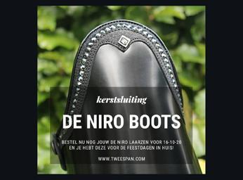 De Niro Boots             Nieuws / Kerstsluiting