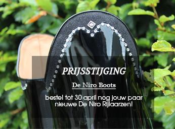 Prijsverhoging De Niro Boots