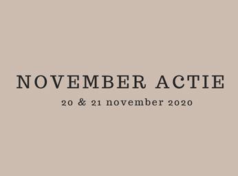 November Aanbiedingen in de winkel & online